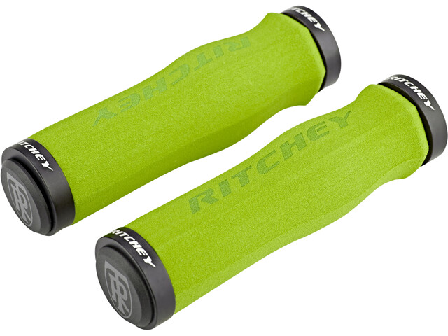 Ritchey WCS Ergo True Grip Grips Lock-On, green